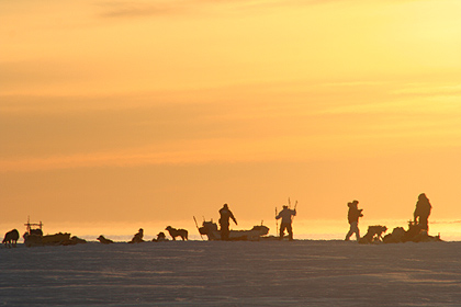 Sunreturn at Scoresby Sund , image by Nanu Travel